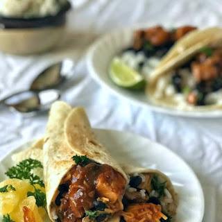 Huli Huli Chicken Wraps Recipe