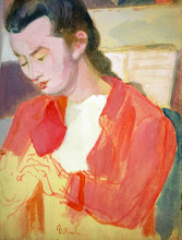 Photo: The Artist's Daughter Elena mid 1950s