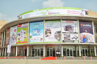 Photo: PackPlus 2013, India Expo Centre, Greater Noida