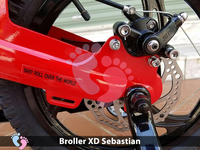 Xe đạp cho bé Broller XD Sebastian 11