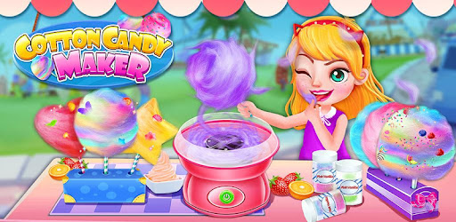 Cotton Candy Food Maker Game app (apk) free download for Android/PC/Windows screenshot