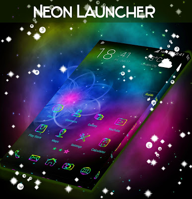 Neon Launcher - screenshot