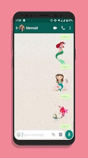 MERMAIDS WASTICKER stickers and autocallants Screenshot