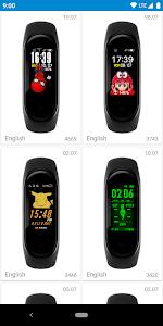 MiBand4 - WatchFace for Xiaomi Mi Band 4 0 0 12 + (AdFree