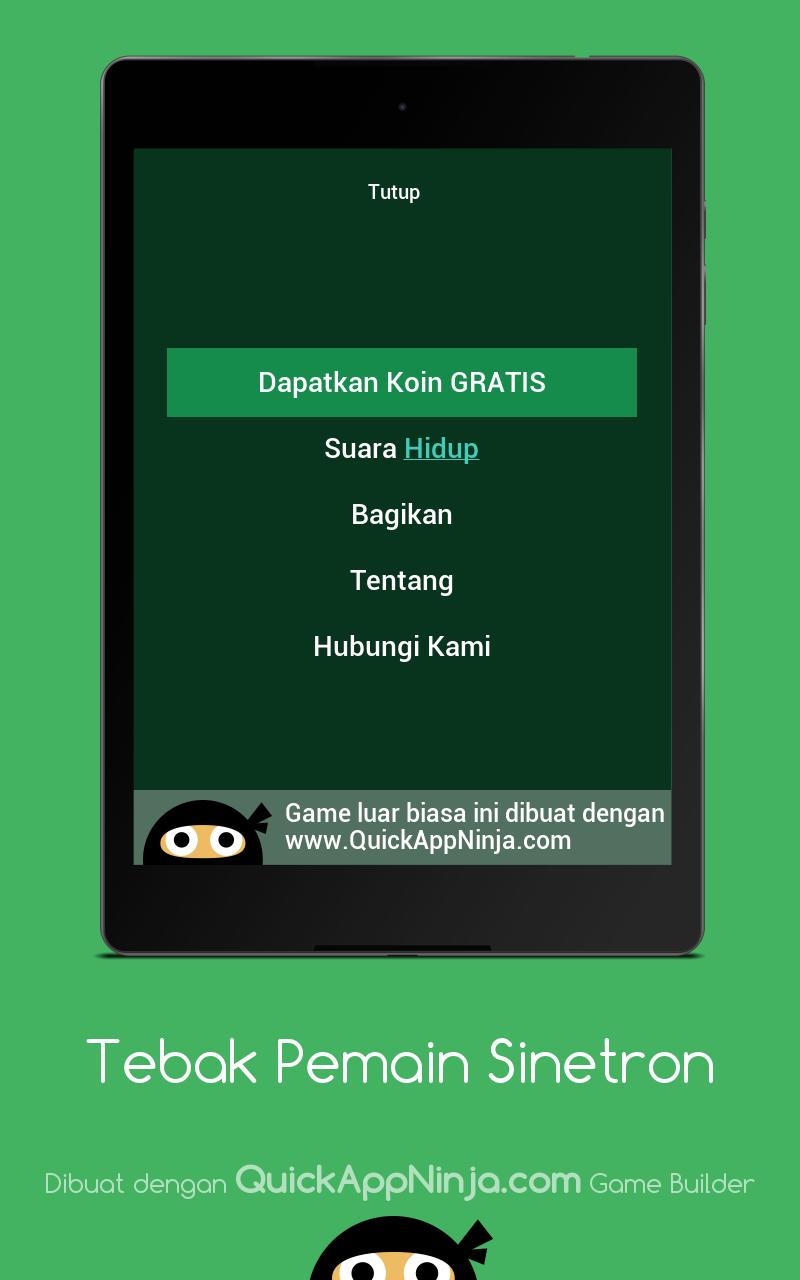 Скриншот Tebak Pemain Sinetron