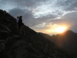Photo: All'alba si parte per la vetta