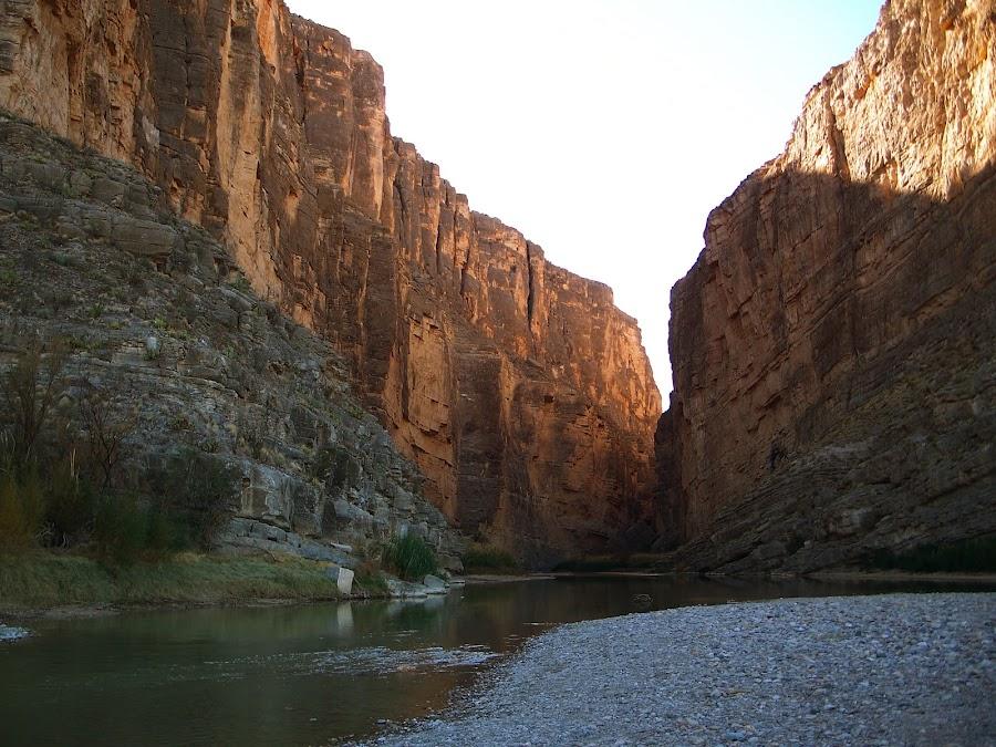 Santa Elena Canyon, Big Bend National Park, TX by Jennifer Tsang - Landscapes Caves & Formations ( big bend, rio grande, canyon )