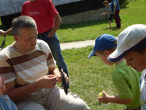 Photo: Ako sa to mám hrať, oci