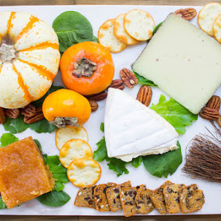 Holiday Cheese board with Quince Paste