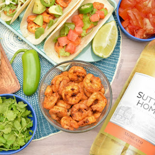 Easy Spicy Shrimp Tacos.