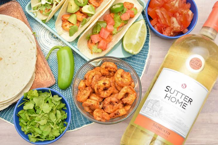 Easy Spicy Shrimp Tacos