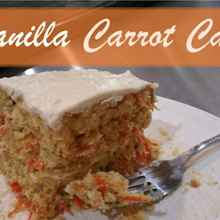 Vanilla Cake Mix Carrot Cake.