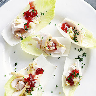 Smoked Chicken and Endive Canapés