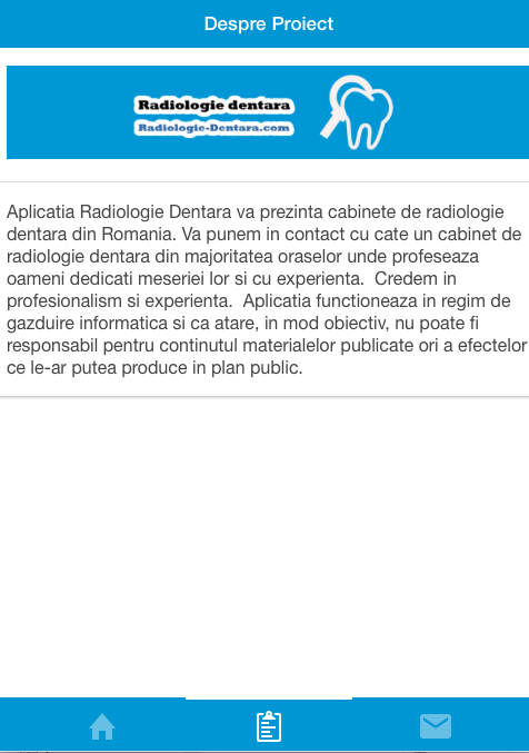 Radiologie Dentara- screenshot