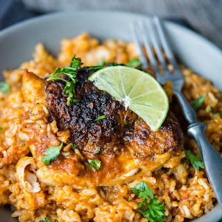 Crockpot Southwest Chicken and Rice Recipe