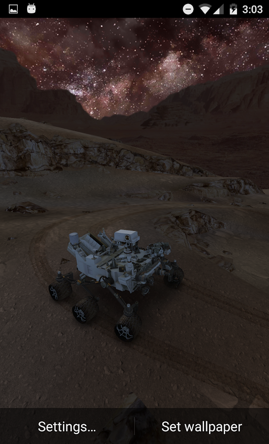 My Mars (3D Live Wallpaper) - Android Apps on Google Play