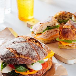 Caprese Sandwich for a Crowd Recipe