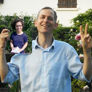 Olivier, parrainé par Faustine pour soutenir le projet de L'Arche à Clermont-Ferrand !