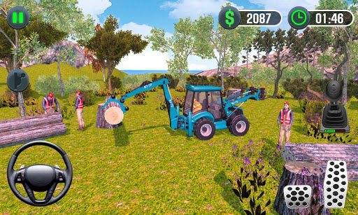 Farming Simulator - Big Tractor Farmer Driving 3D 1.0 screenshots 4