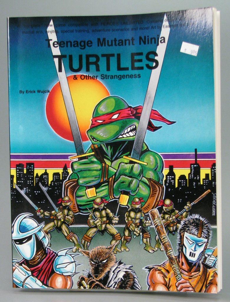 Game:Teenage Mutant Ninja Turtles & Other Strangeness - Palladium ...