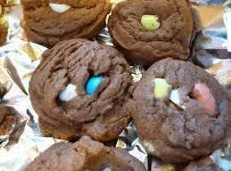 Soft Chocolate Candy Cookies Recipe