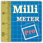 Millimeter Pro - ruler and protractor on screen Icon