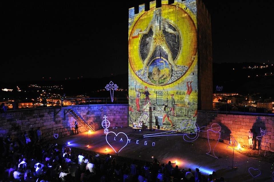 Espetáculo inovador conquistou o público da Feira Medieval de Lamego