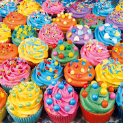 Colourful Cupcakes (500 pc)
