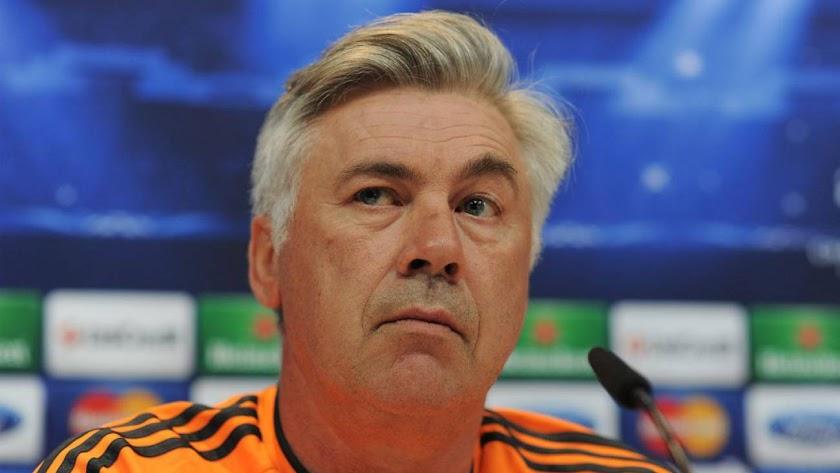 El entrenador italiano en su etapa madridista.