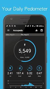 Download Accupedo Pedometer For PC Windows and Mac apk screenshot 1