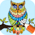 Animal Coloring Pages: Paint and Draw In Savannah icon