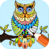 Animal Coloring Pages: Paint and Draw In Savannah