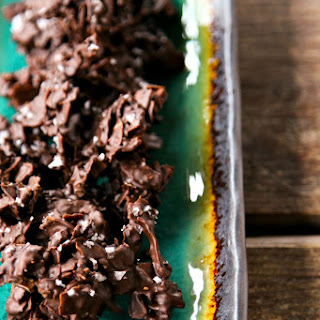 Spicy Chocolate Coconut Clusters Recipe