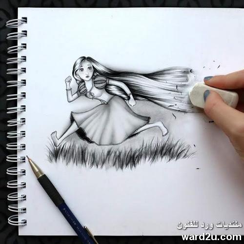 خربشات يومية على صفحات ورد للفنون