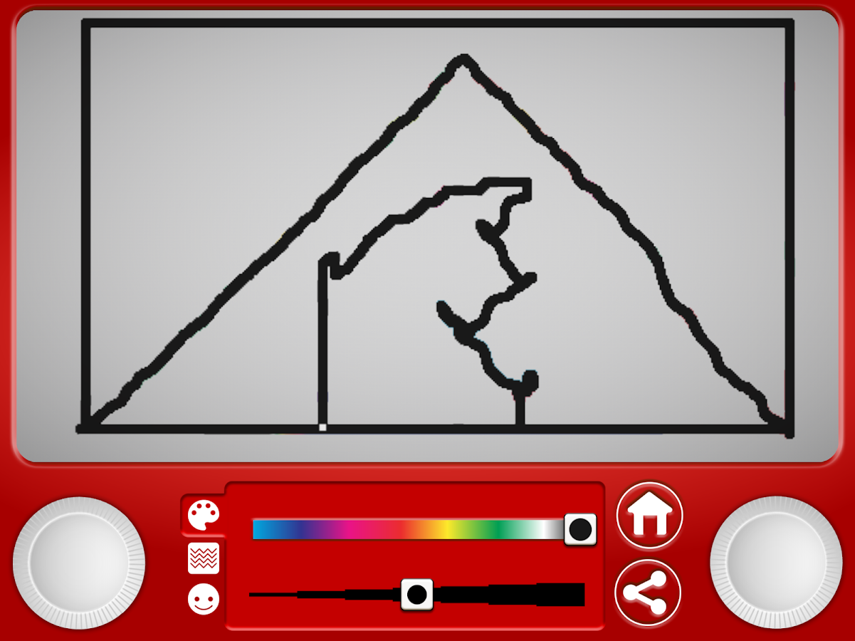 Etch A Sketch IT!- screenshot