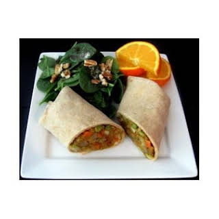 Indian Samosa Wraps.