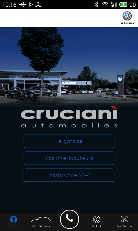 Garage Roby Cruciani VW- screenshot