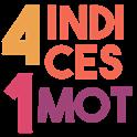 4 indices 1 mot icon