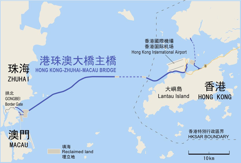 港珠澳大橋(Hong Kong-Zhuhai-Macao Bridge)1