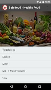 Safe food - Healthy food screenshot 4