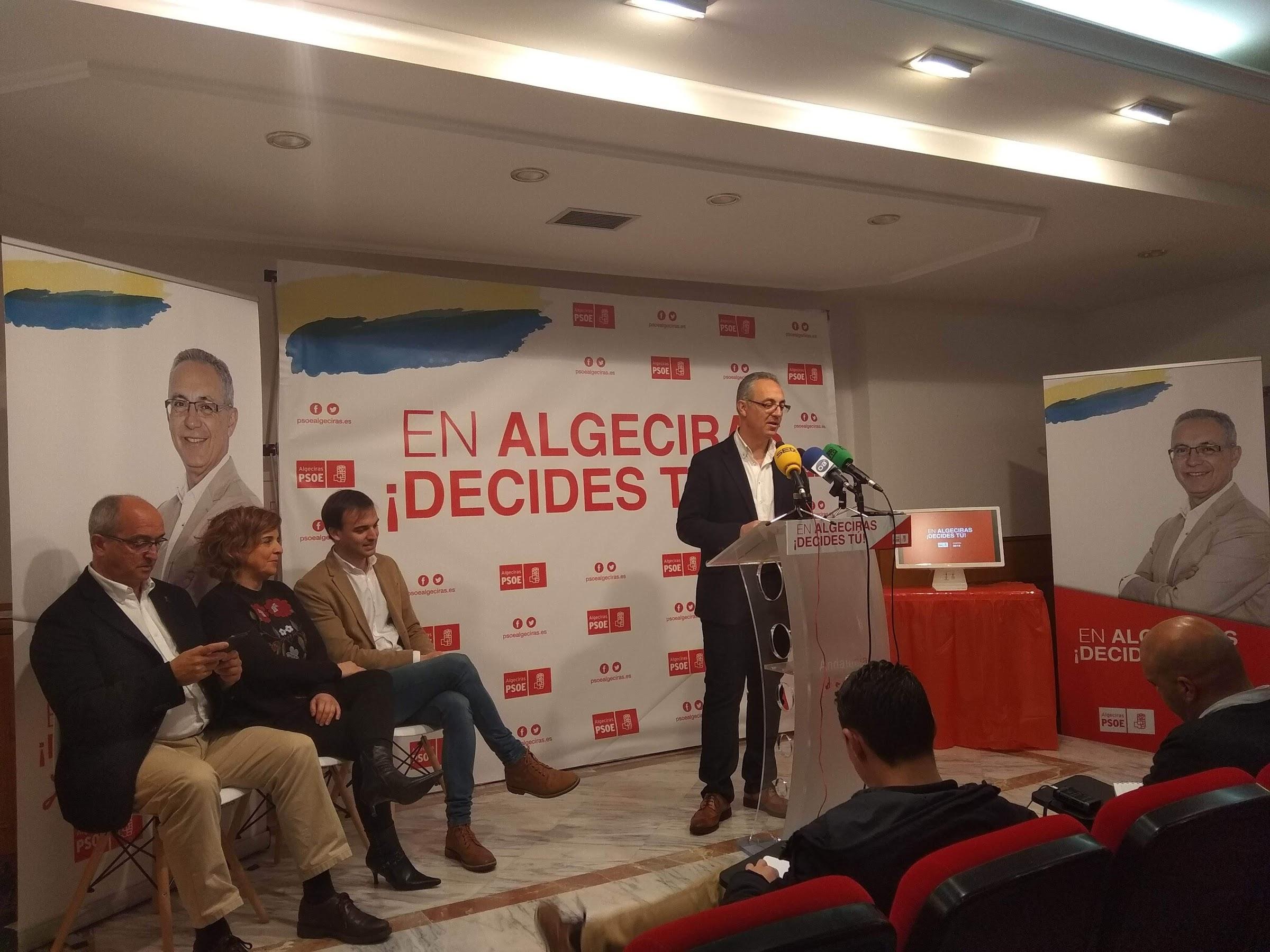 Lozano presenta su modelo de Ciudad habitable centrado en la participación de las barriadas