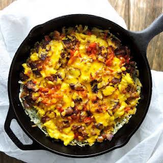 Breakfast Skillet Burrito Casserole.