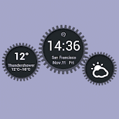 Gear Weather widget