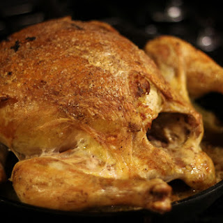 Potato-Stuffed Roast Chicken