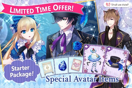 Lost Alice in Wonderland Shall we date otome games Apk 6