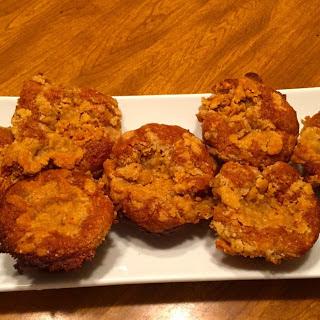 Gluten Free Fresh Peach Muffins
