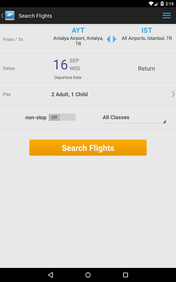 Aerobilet - Flights, hotels- screenshot