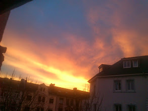 Photo: Sunrise, Dortmund Nordstadt, 05.02.14 08:00