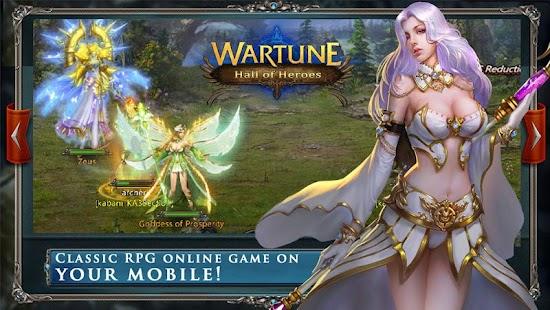 Wartune: Hall of Heroes Screenshot 1