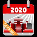 Racing Calendar 2020 DONATION icon